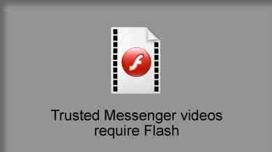 There was a problem playing this Trusted Messenger video.